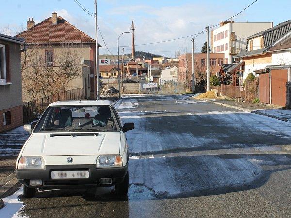 Štefánikova ulice vBoskovicích je nyní neprůjezdná.