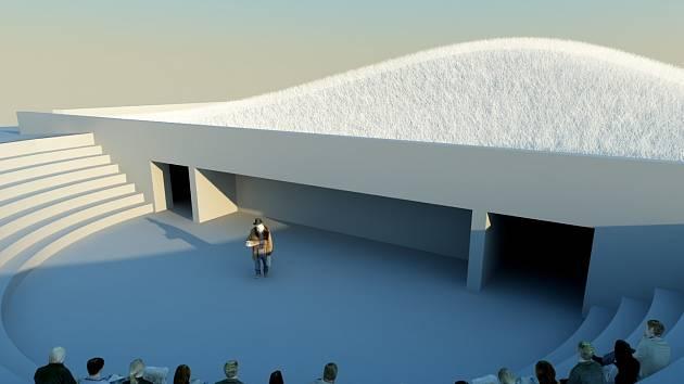 Malé divadlo mělo stát na pozemcích města po zbouraném hotelu Dukla. Zabralo by i opuštěné suterénní prostory.