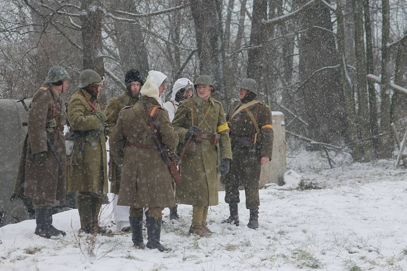 Ve Skalici nad Svitavou lidé viděli válečnou řež. Mezi fašisty a Rudou armádou.