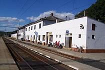 Vlakové nádraží v Letovicích