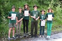 Děti, které navštěvují kroužek myslivosti, lesnictví a ochrany přírody při lysické základní škole, uspěly v celostátním kolem soutěže Zlaté srnčí trofeje.