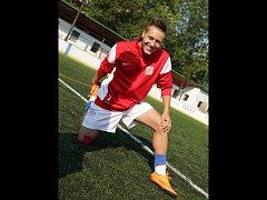 Fotbalista Pavel Blaha nastupuje za Blansko v Lize malého fotbalu.