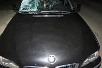 Dopravní nehodu, při které srazilo osobní auto chodkyni, vyšetřují blanenští policisté.