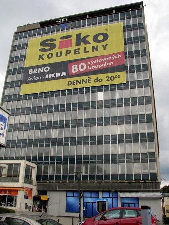 Výšková budova na Wanklově náměstí, Blansko