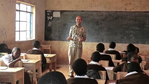 Ve třídě Jana Novotného se často sejde až šedesát žáků.