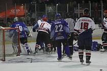 Zápasy play-off bývají vyhrocené nejen v derby. Boskovice hrají první utkání s Blanskem ve středu.