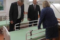 V letovické nemocnici mají nové pokoje pro pacienty a zázemí pro personál.