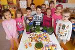 Děti z II. Mateřské školy v Rájci-Jestřebí.