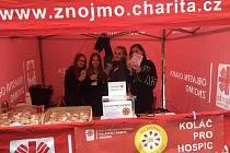Studentky z Přímky pomohly charitě.