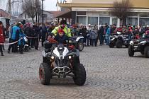 Desáté silvestrovské setkání Motoklubu Vícemilice v Bučovicích