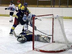 Blanenští hokejisté prohráli i druhý zápas semifinále play-off krajské ligy s Velkou Bíteší a sezona pro ně skončila.