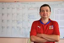 Michal Nečas z Lipovce vyhrál jarní kolo Fortuna ligy. Domů si odnesl dres fotbalové reprezentace podepsaný jedním z hráčů.