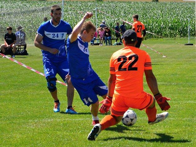 Jedenadvacátý ročník turnaje v malé kopané Hyundai Cup ve Vilémovicích vyhráli fotbalisté Lipovce.