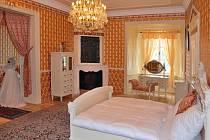Svatební apartmá v letovickém zámku.