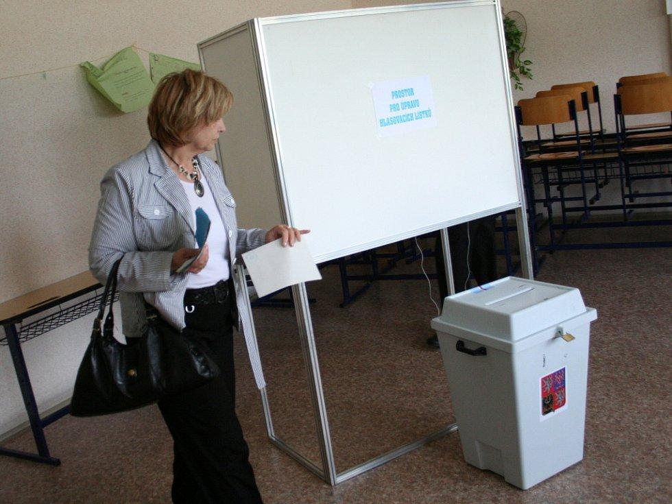 Jaroslava Králová strarostka u voleb na Písečné