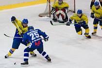 V sestavě se po zranění objevil opět Šlapanský, hokejisté přesto prohráli.