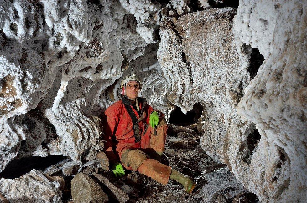 Solná jeskyně ve Španělsku.