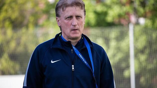 Fotbalový trenér Oldřich Machala