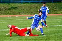 Fotbalisté Blanska sice do jarní části sezony vstoupili úspěšně, ale ani to jim nepomůže odvrátit sestup.