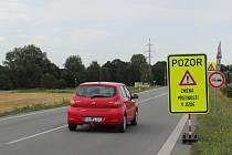 Změna přednosti u Ráječka na Blanensku.