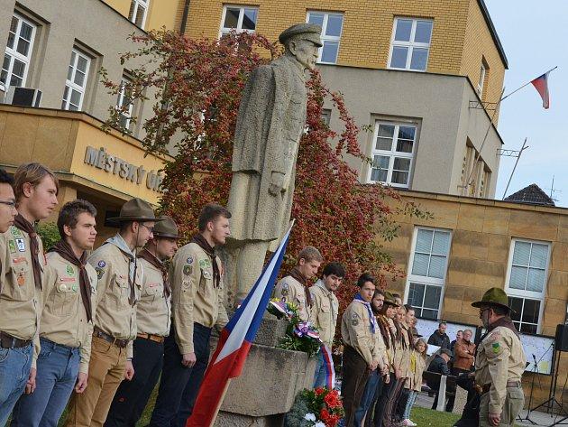 Boskovičtí si v pátek připomněli vznik Československa.
