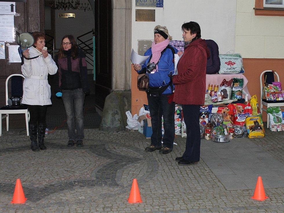 Sbírku pro psy v záchytné stanici pořádali Boskovičtí už popáté. Letos mohli lidé poprvé podstrojit i kočkám.