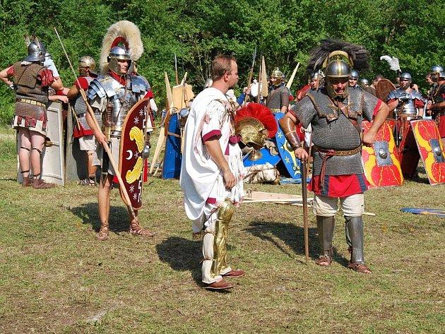 V sobotu 15. srpna s e v keltské usedlosti Isarno u Letovic konala  Keltsko-římská bitva o pohár sličné lady Purkabonové z Dolních Horněchlup
