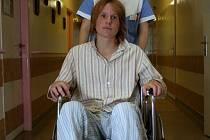Karel Pravec v boskovické nemocnici