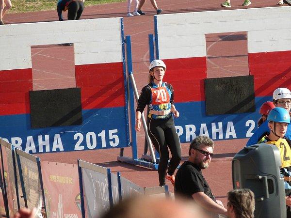 Aneta Tichá zSDH Petrovice skončila vrepublikovém finále vkategorii střední dorostenky osmá.