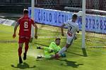 Fotbal Zbrojovka Brno a Mladá Boleslav