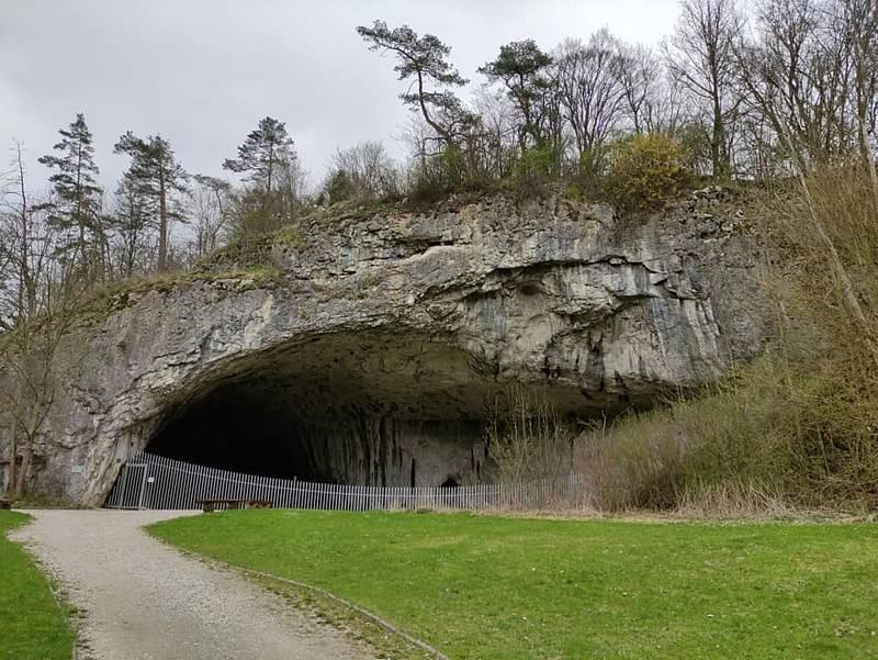 Výlet Moravským krasem. Jeskyně Kůlna.