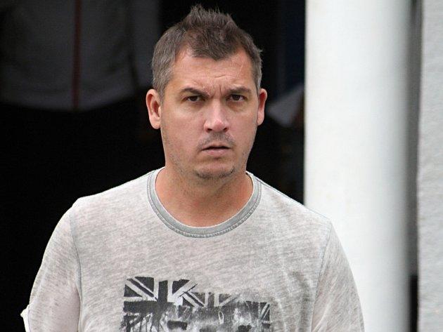 Trenér blanenských fotbalistů Martin Maša