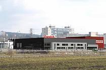 Průmyslová zóna v Blansku.
