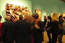O výstavě Fantastické světy mluví návštěvníci v superlativech. Z Frankfurtu nad Mohanem se přesunula do Uměleckohistorického muzea ve Vídni. Jedním z přibližně 140 vystavovaných exponátů je také část světelského oltáře z kostela svaté Barbory v Adamově.