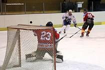 Hokejsité Blanska porazili lídra krajské ligy, Brumov-Bylnici. Hostům tak přerušili třináctizápasovou sérii výher.