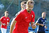 Jan Havlíček, hrající trenér fotbalistů FC Boskovice krajský přebor.