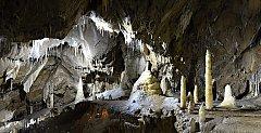 V zimě jsou přístupné Punkevní jeskyně, jeskyně Výpustek, po dohodě Sloupsko-Šošůvské jeskyně.