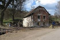 Z ruiny chtějí v Býkovicích postavit mlýn