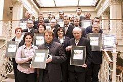 Vyhlášení krajského kola soutěže Zlatý erb 2009
