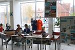 Burza středních škol v blanenském dělnickém domě.