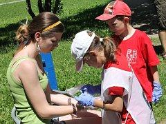 Mladí zdravotníci se utkali o republikový pohár.