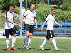 V pravou chvíli se přidal k tradičnímu střeleckému tandemu Pivovaru Černá Hora Blanensko také zkušený Jan Havlíček. Jeho tři góly výrazně pomohly k domácímu vítězství Jihomoravanů 8:5 nad Olomoucí ve dvanáctém kole Superligy malého fotbalu.