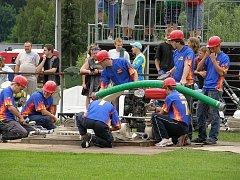 Sbor dobrovolných hasičů z Lipovce.