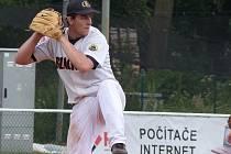 Talentovaný baseballita Michal Prudil z Blanska.