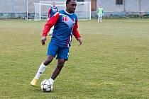 Fotbalisté FK Blansko vyhráli jarní premiéru v divizi. Snajpr Traoré dal dva góly, proti Vrchovině už ale bude chybět.