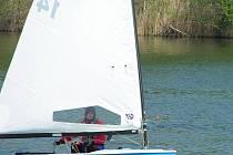 Martin Kubík na jachtě.