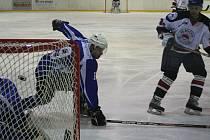 Hokejisté Minervy Boskovice si v prvním zápase semifinále play off krajské ligy poradili s Kometou Úvoz.