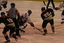 Hokejisté Blanska vyhráli na domácím ledě s Kroměříží 6:2.