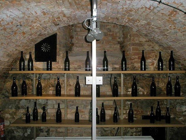 Část expozice nového muzea věnovaného pivu v Černé Hoře.