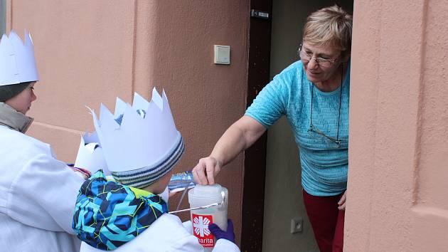 Poslední den Tříkrálové sbírky prošli koledníci městem Kunštátem
